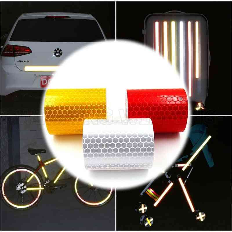1pcs Reflective Sticker Car Motorcycle Bike Truck Decal Safety Warning Tape