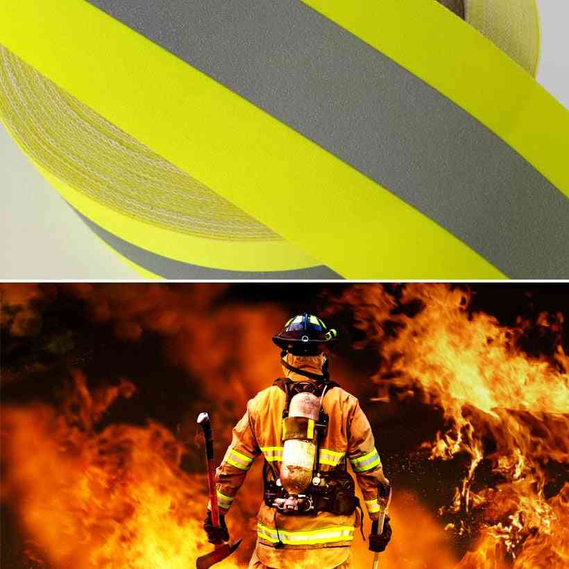 5cm Width Reflective Flame Retardant Tape With Cotton Backing For Glove