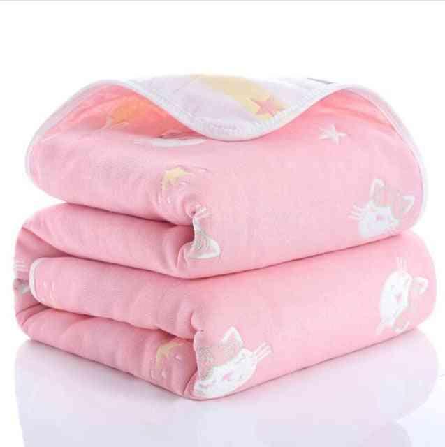 Lazychild Summer Baby Thin Quilt Newborn Comforter.