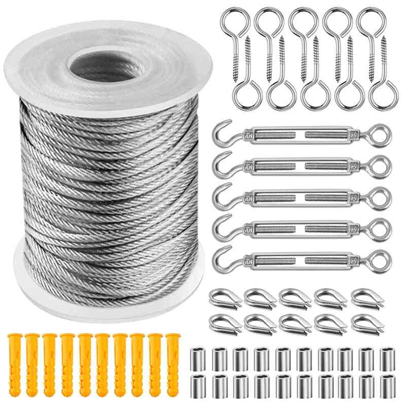 Wire Cable &  Stainless Wire Rope Package