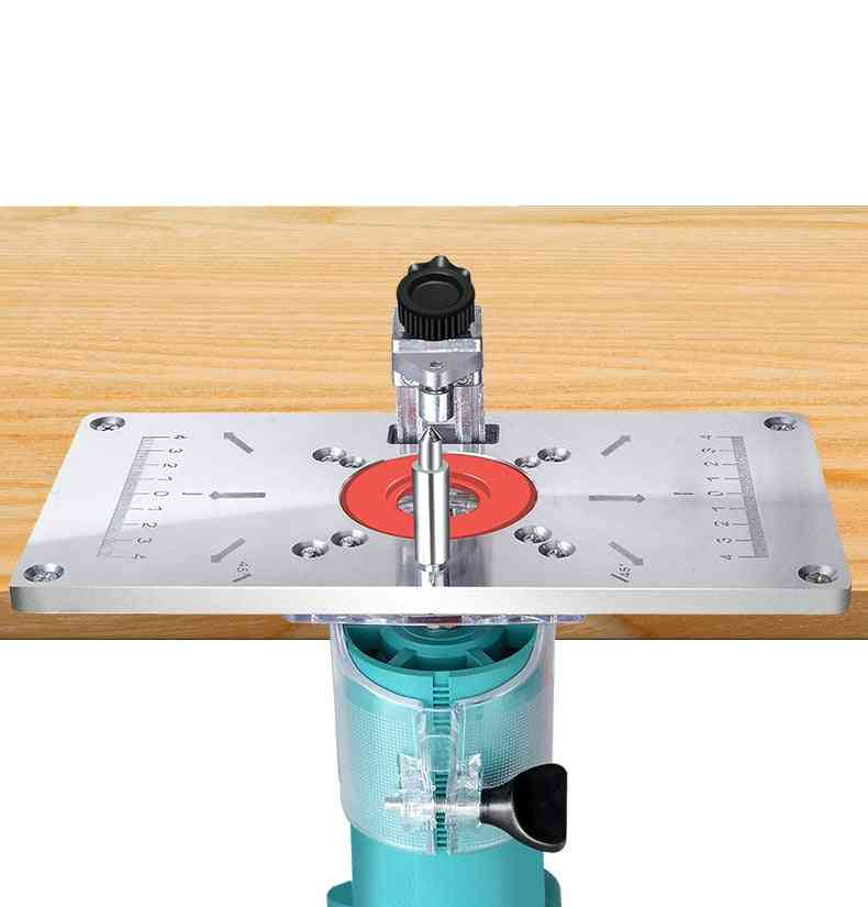 Aluminum Router Table Insert Plate