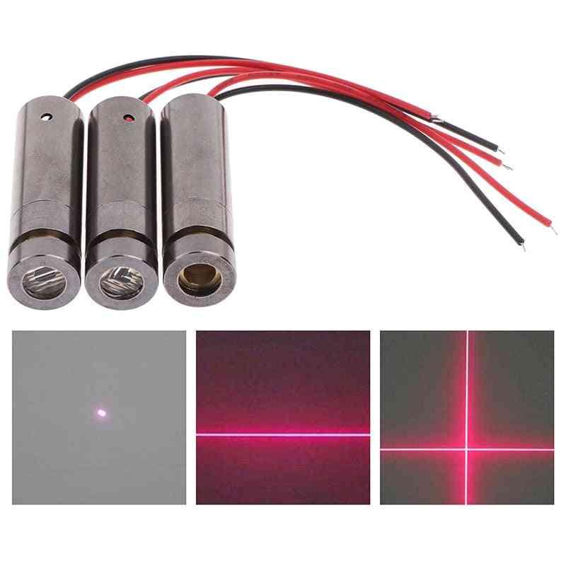 Cross Laser Module Head Glass Lens