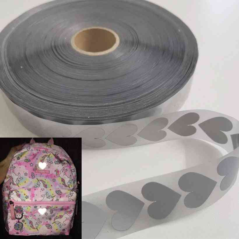High Visibility Silver Reflective Tape