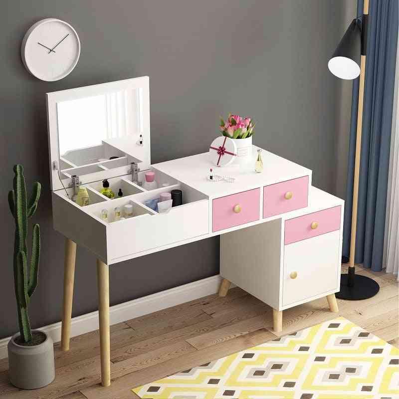 Vanity Table Set Make Up Mirror