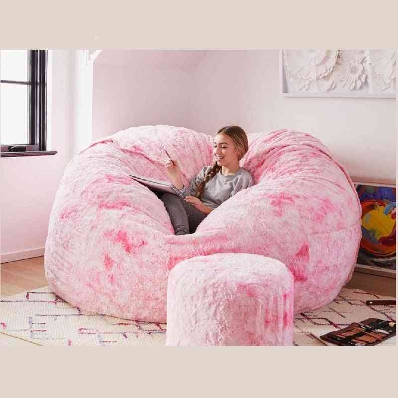 Giant Fur Bean Bag Bed Cover