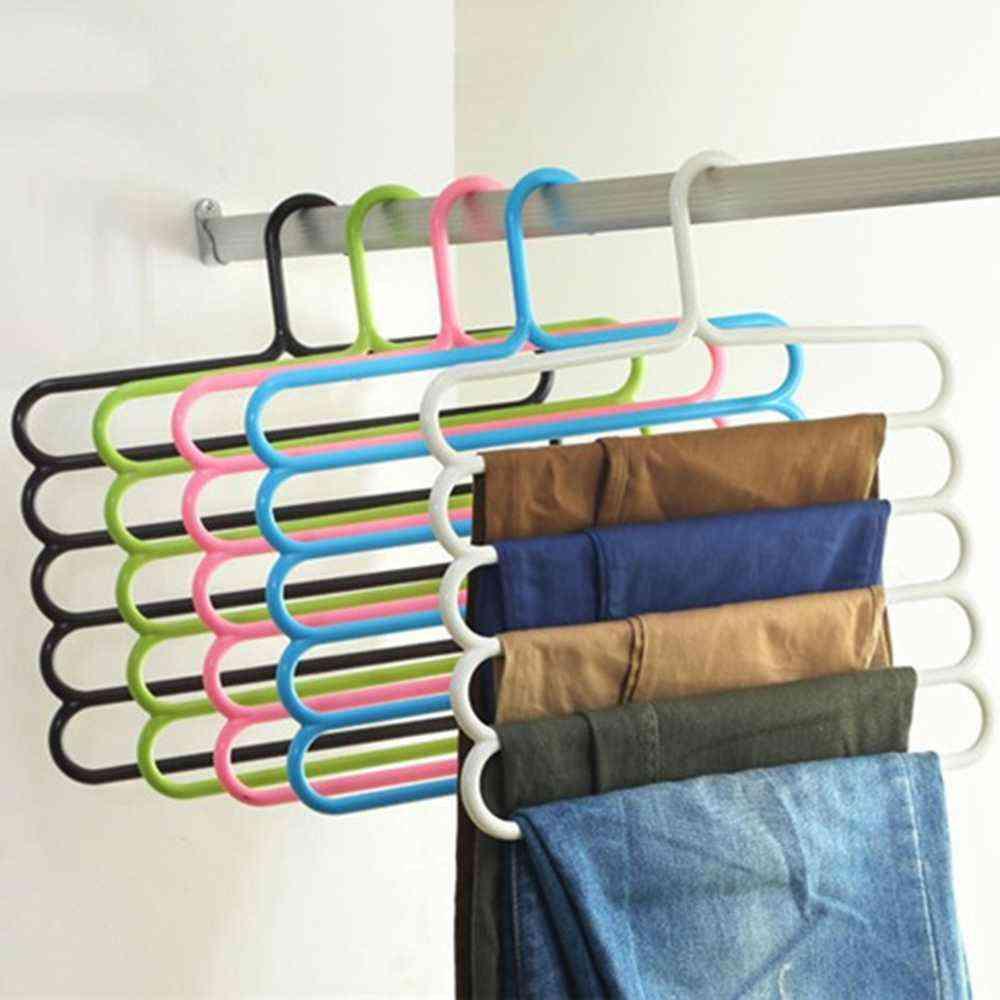 Multi-purpose Five-layer Pants Hanger