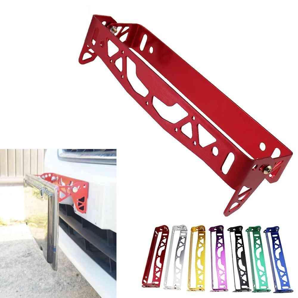 Car Aluminum, License Plate- Jdm Rotating, Number Frames, Tag Holder