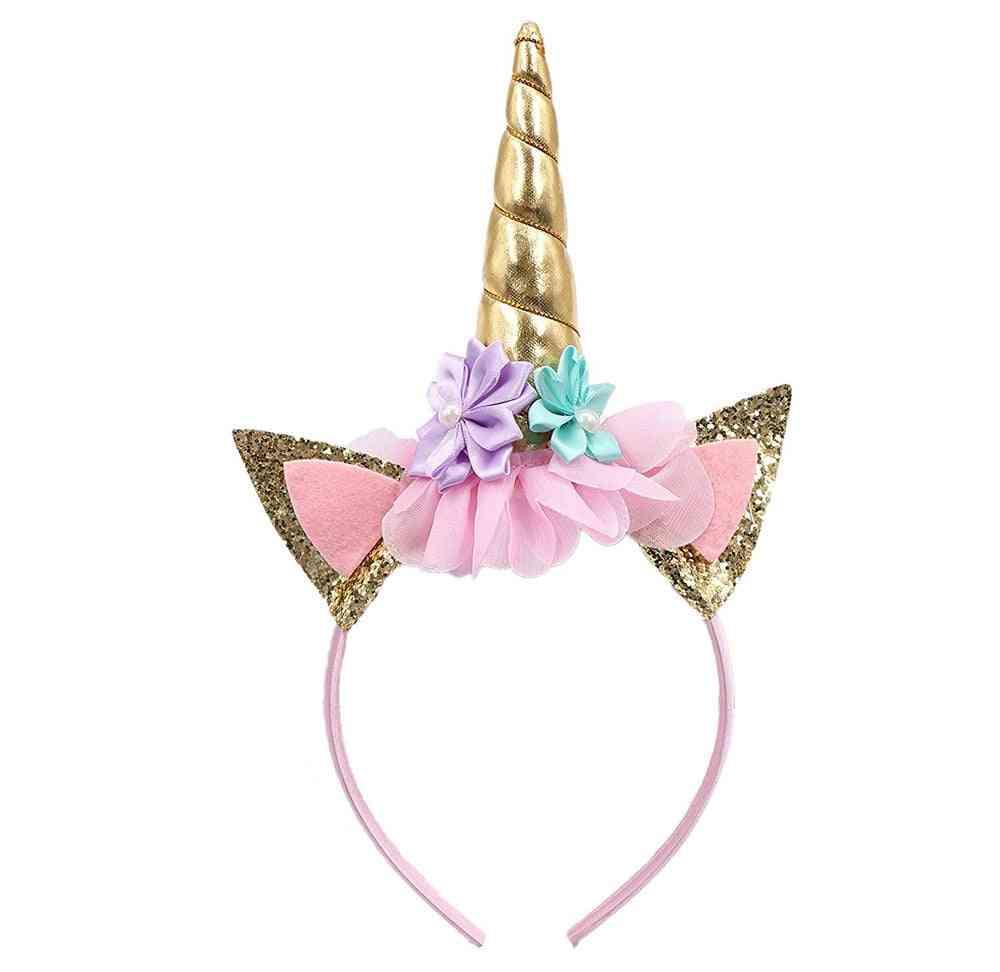Party Head Dress Decorative, Flower Hairband, Headwear.