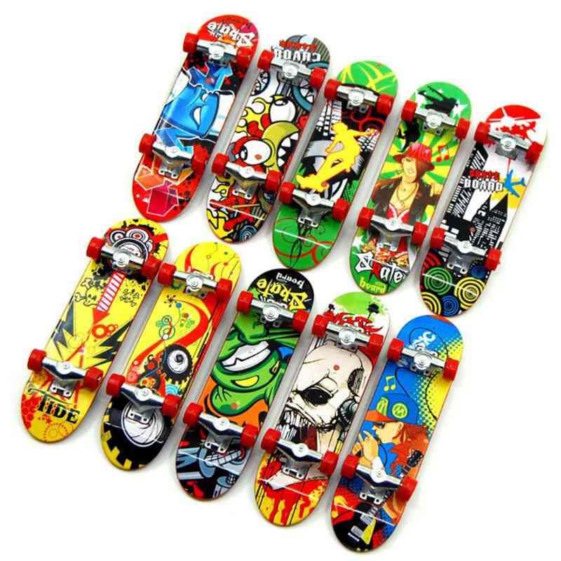 Finger Board Tech Truck, Mini Skateboards, Alloy Stent, Party Favors