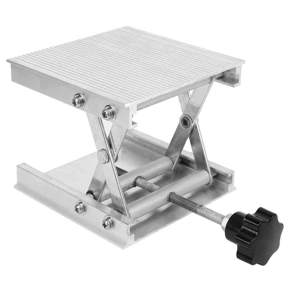 Aluminum Alloy Manual Fine Adjustment Laboratory Lifting Table
