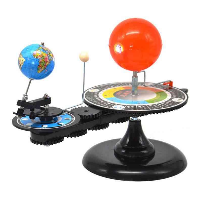 Solar System, Sun, Earth, Moon, Orbital Planetarium Model, Education Teaching Tool