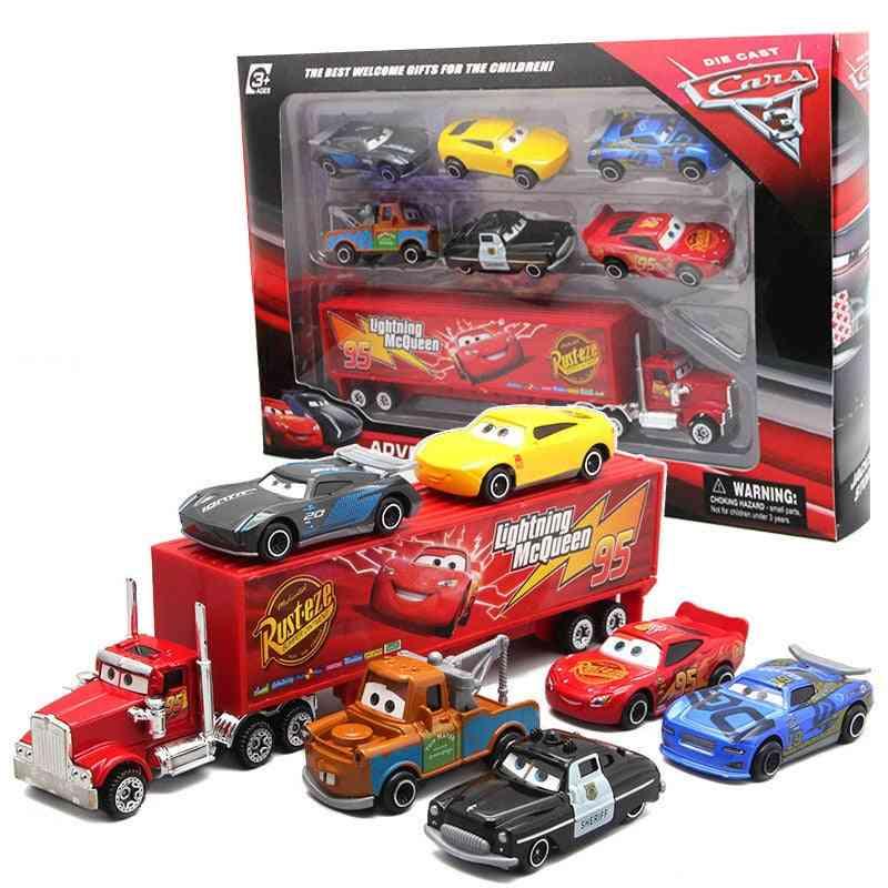 Toys Set, Lightning Storm Truck, Alloy Car, Metal Die Casting Toy