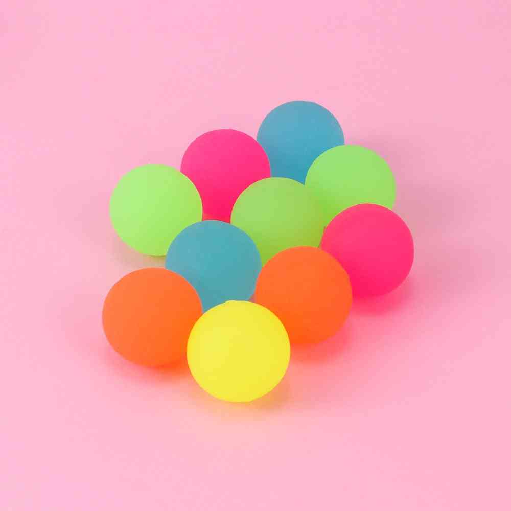 Party Favor Luminous Ball, Moonlight Bounce, Orb Glow In The Dark, Noctilucent Kids Decoration