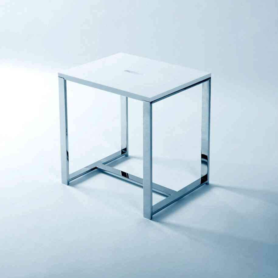Solid Surface Stone Small Bathroom Step Stool