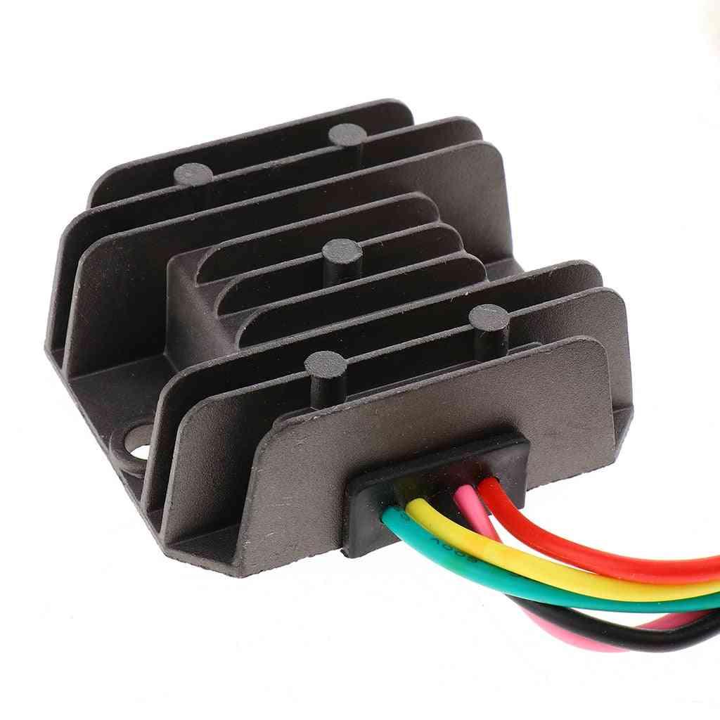 Pins Wired Motorcycle Rectifier Voltage Regulator