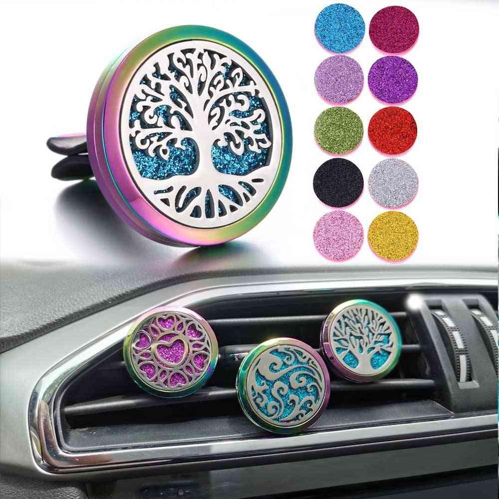Car Clip Perfume Lockets Pendants