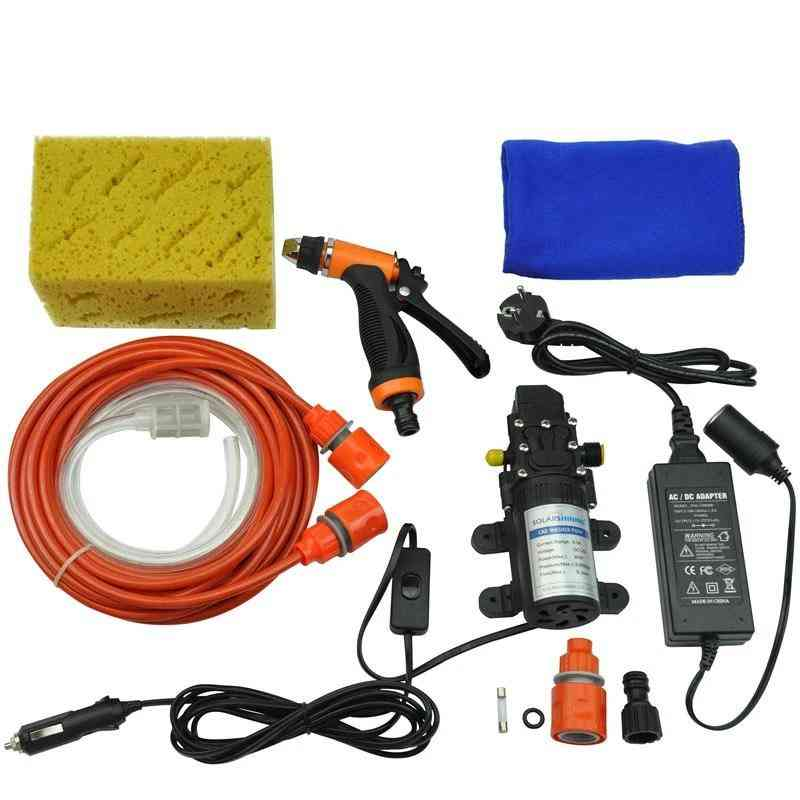 Self-priming Electric Car- Washer Machine, Pump Cleaner & Adapter