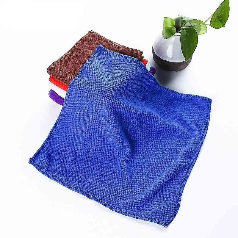 Microfiber Car Cleaning, Washing Glass, Household Small Towels