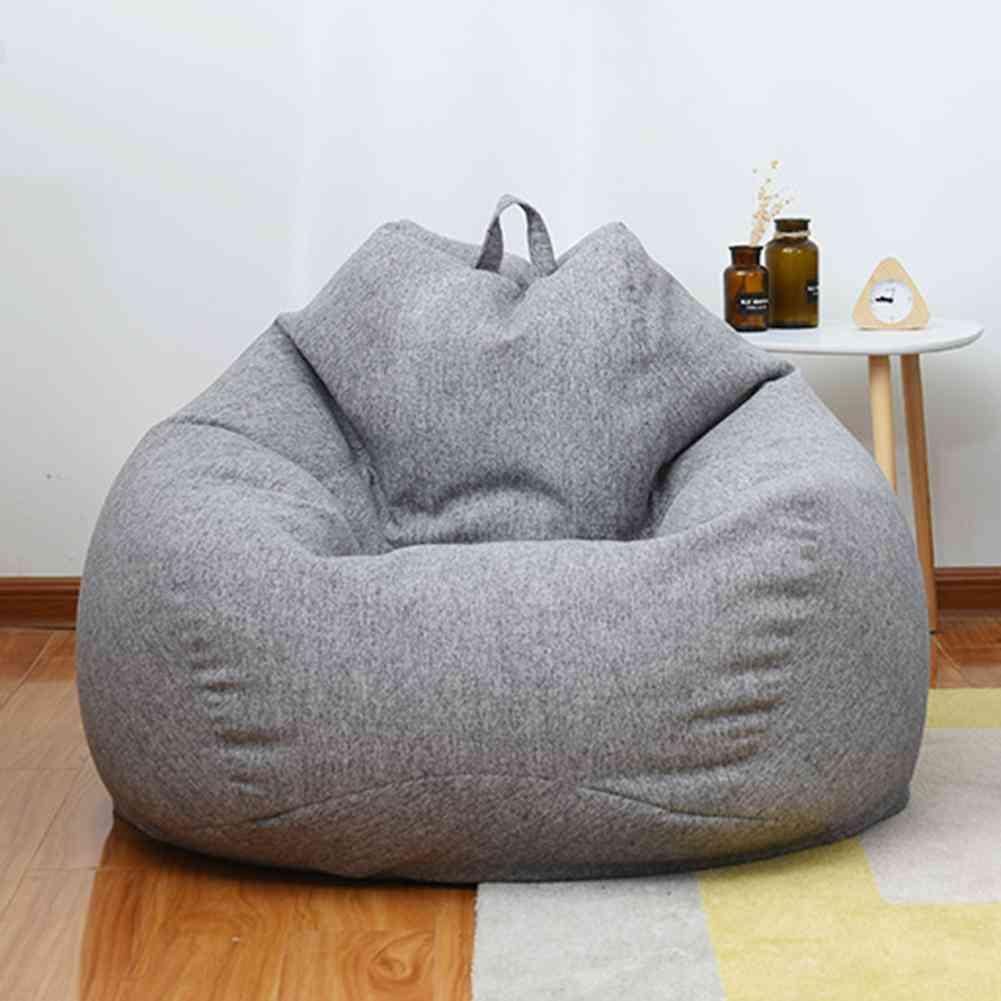 Sofa Cover Bean Bag Lounger Chair Sofa Without Filler Beanbag