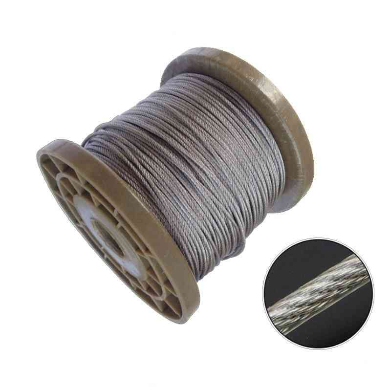 Pvc Coated Flexible Steel Wire  Rope / Cable