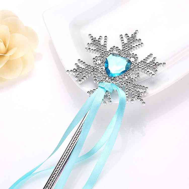 Children's, Snowflake Magic Wand, Birthday Toy Streamer, Princess Cartoon Photo Prop Cosplay