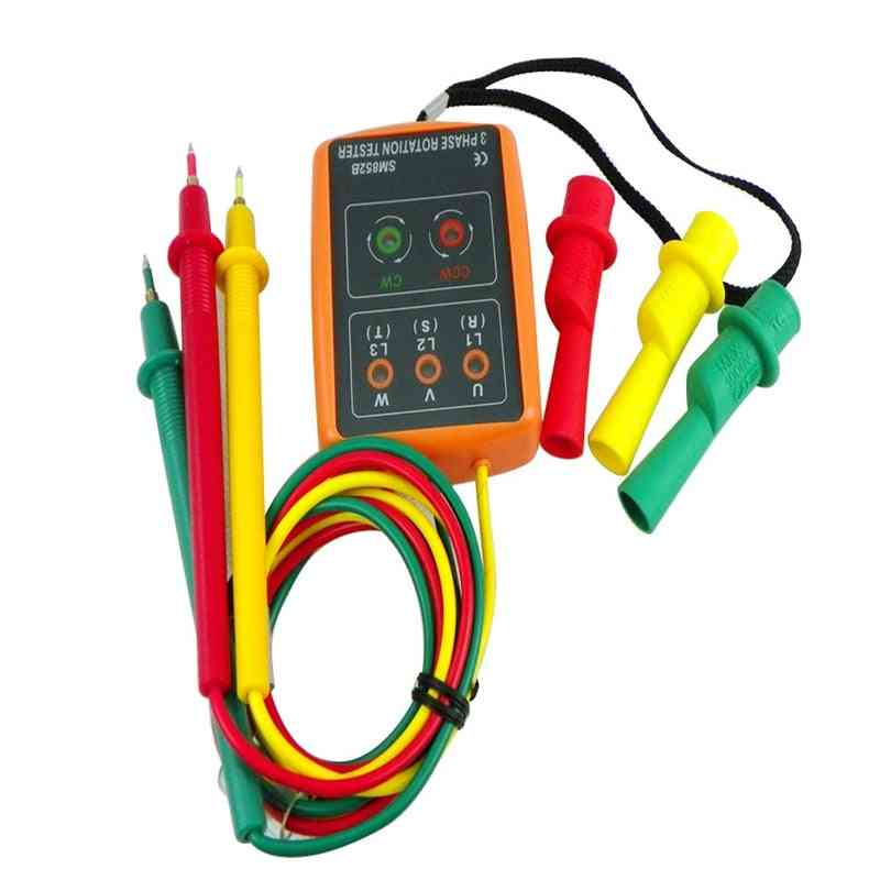 Rotation Tester Digital Phase Indicator Detector