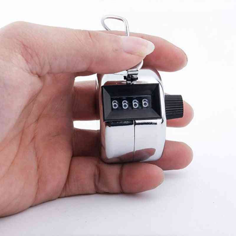 4 Digit Number Hand Tally Finger Counter
