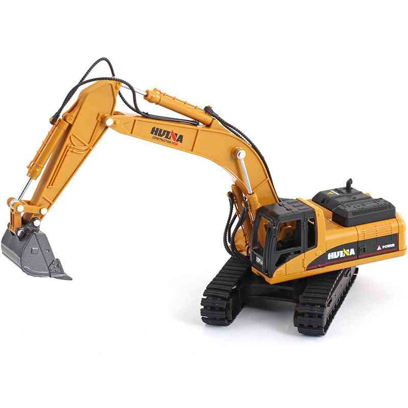 High Simulation Alloy Engineering Vehicle Model, Alloy Excavator, Metal Castings Toy Vehicles