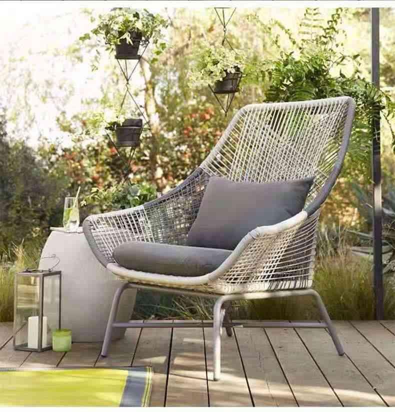 Garden, Outdoor, Balcony Rattan Chair