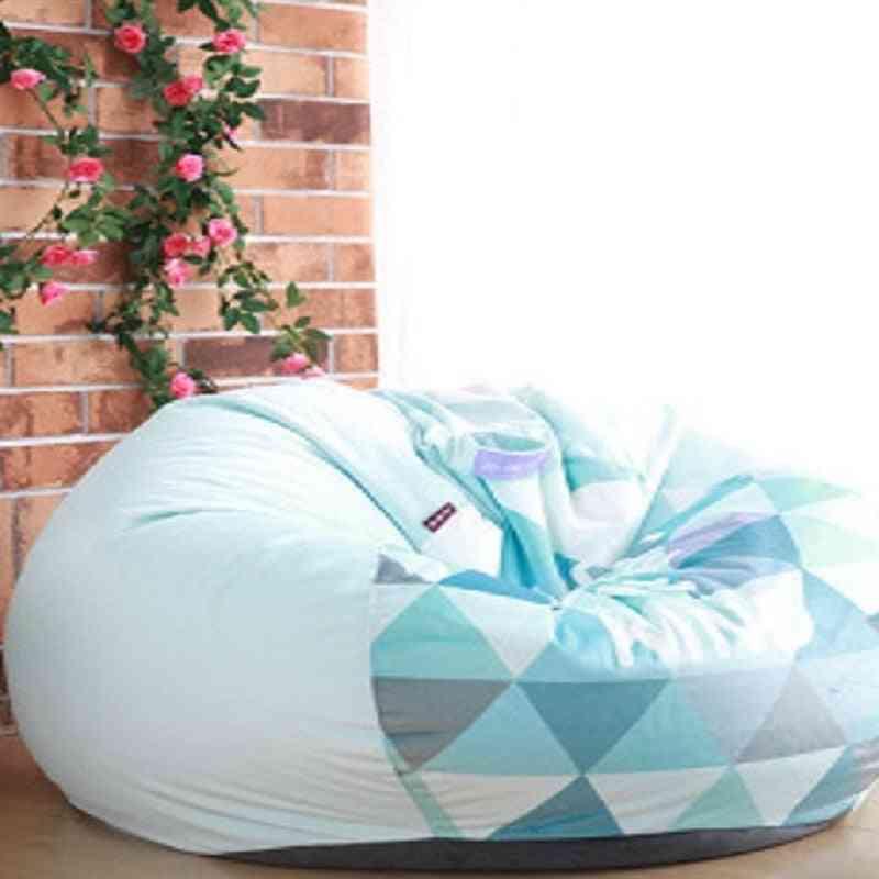 Sofa Chair Filling Bag Lounger Sofa Beanbag Cover