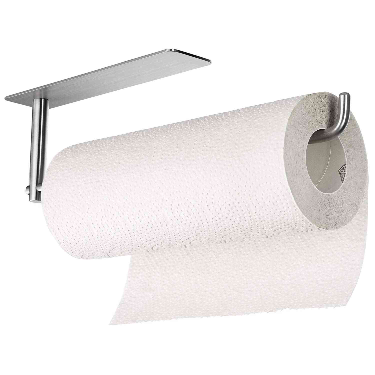 New Hot Fashion, Tissue Roll Holder, Portable Paper Towel Rack For Kitchen Bathroom.