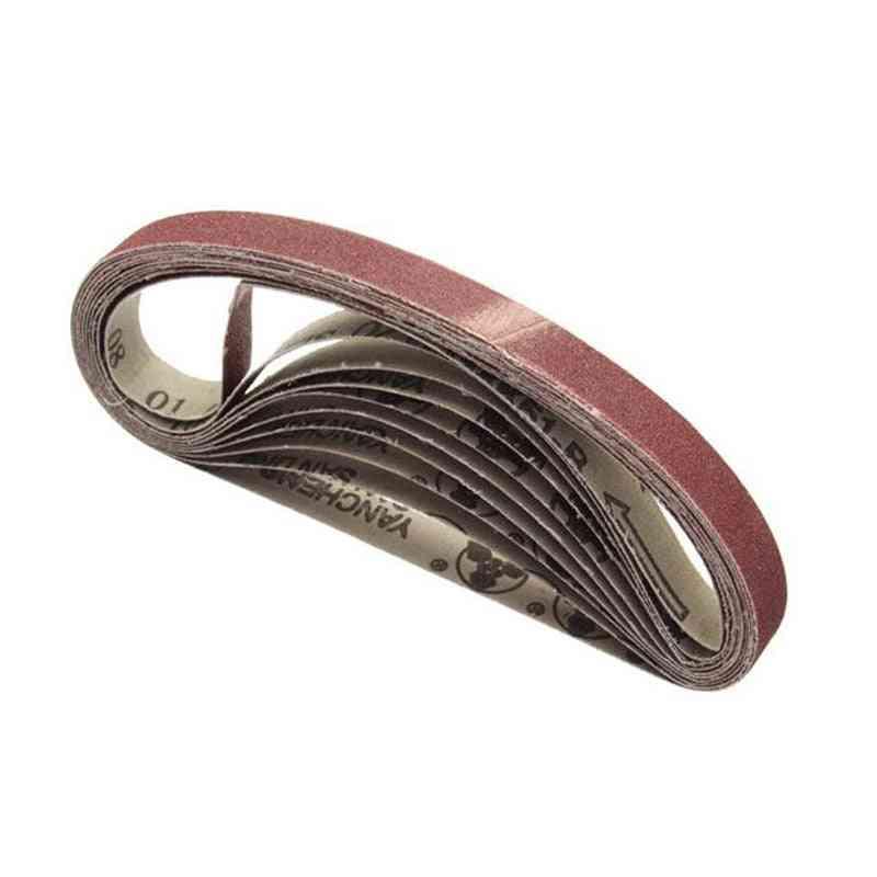 10pcs 15x452mm Sanding Belt Adapter