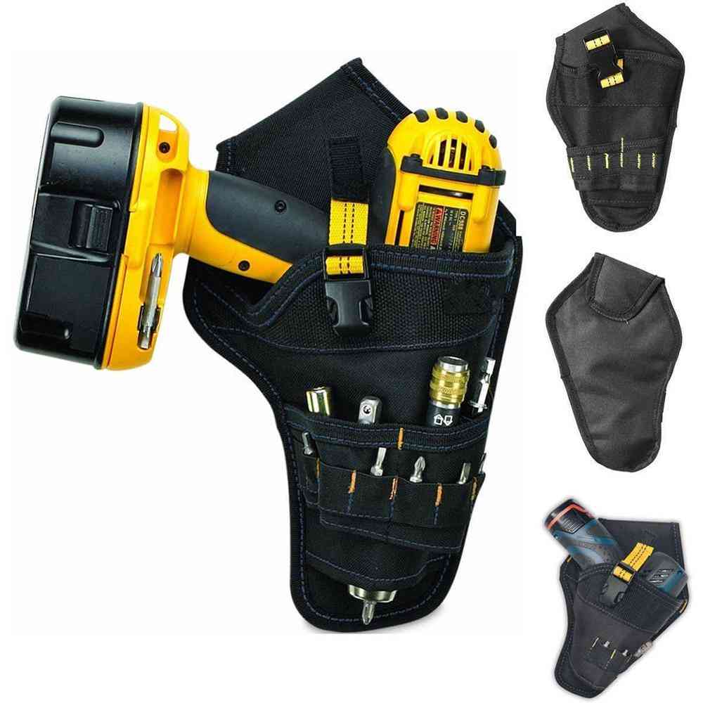 Portable Heavy Duty Drill Driver Electrician Tool Bag