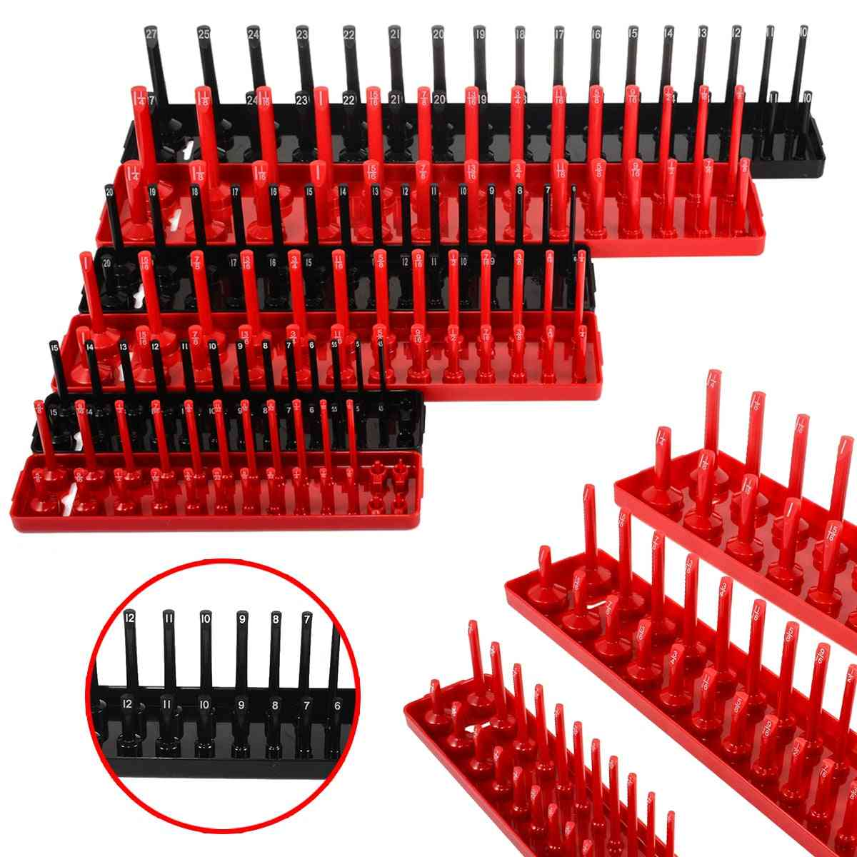 Multifunctional Socket Organizer Cabinets Socket Tray