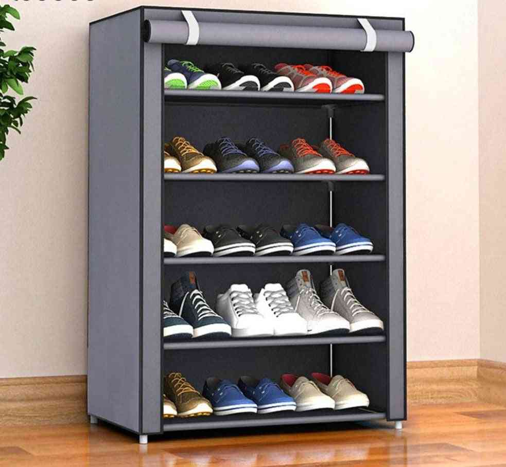 Nonwoven Fabric Simple Shoes Rack
