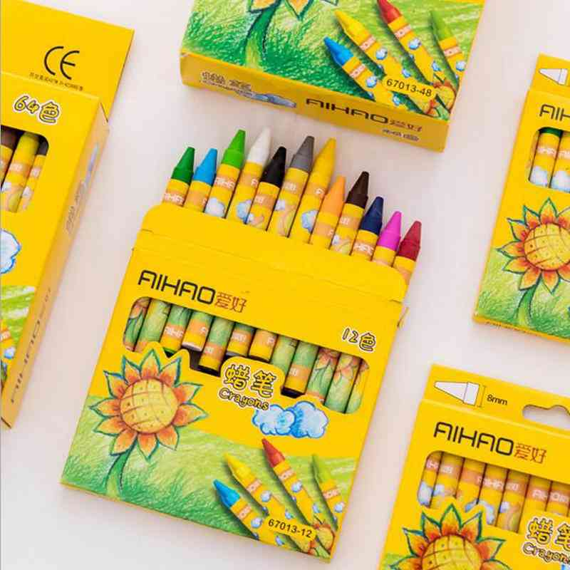 Drawing Wax Caryon Pencil