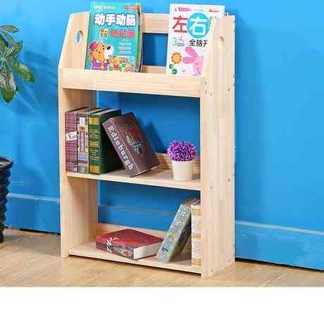 Children Cabinet Home Furniture Solid Wood Storage Rack Kids