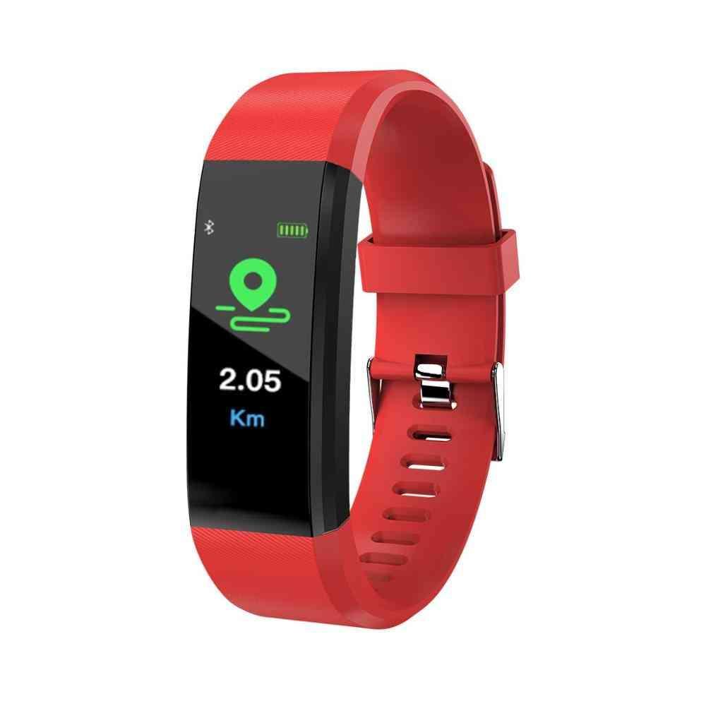 Smart Wristband, Men's Fitness Activity Tracker, Bluetooth Watch, Heart Rate Monitor, Waterproof Kids Bracelet For Women