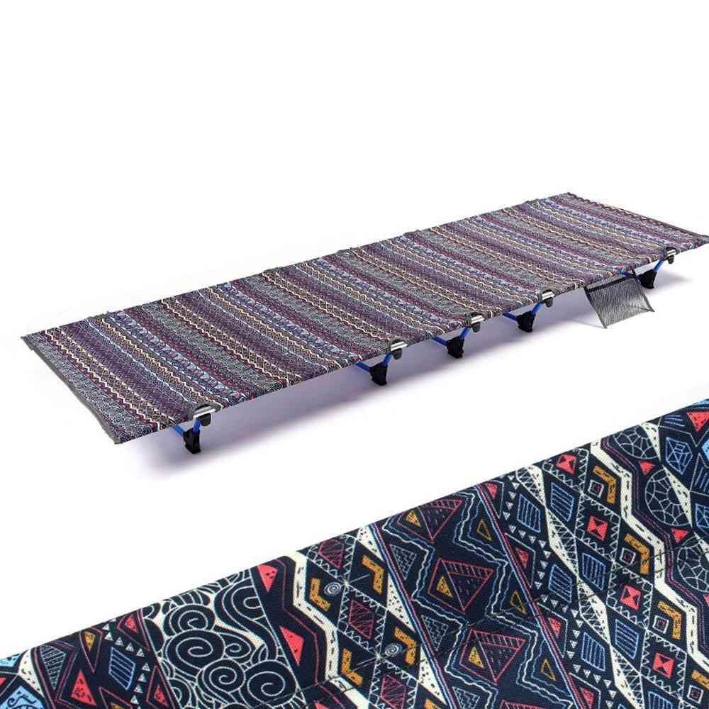Hooru Outdoor Camping Bed Backpacking Hiking Portable Folding Bed
