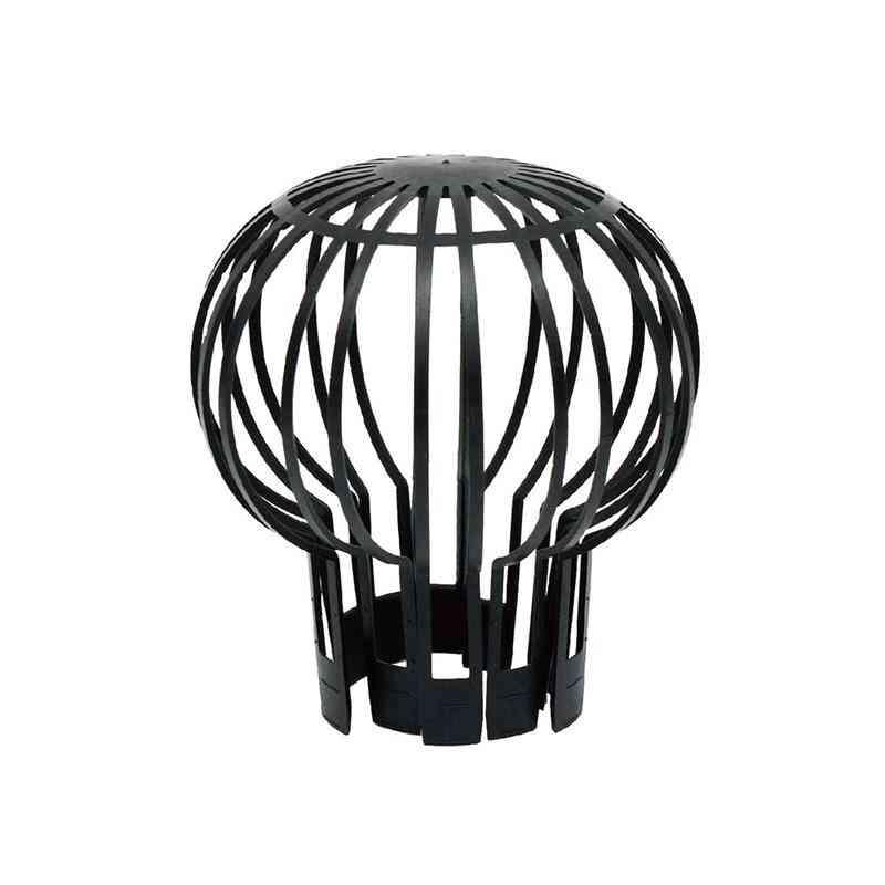 Plastic Gutter Guard Mesh Spherical Fine Practical Durable Black Spherical Design