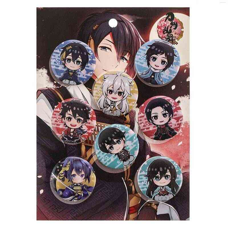 Cartoon Collect Bags Button Brooch Pin