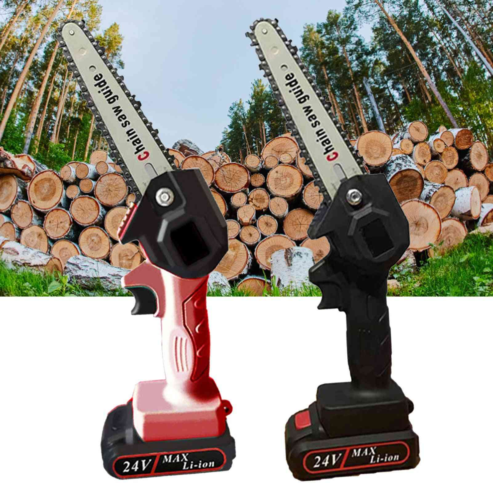 Mini Portable Cordless Electric Battery Chain Saw