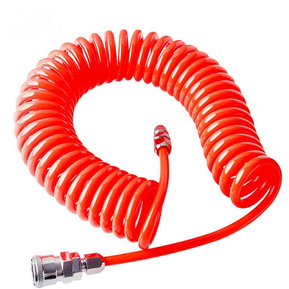 Air Compressor Polyurethane With Pneumatic Components Spring Tube
