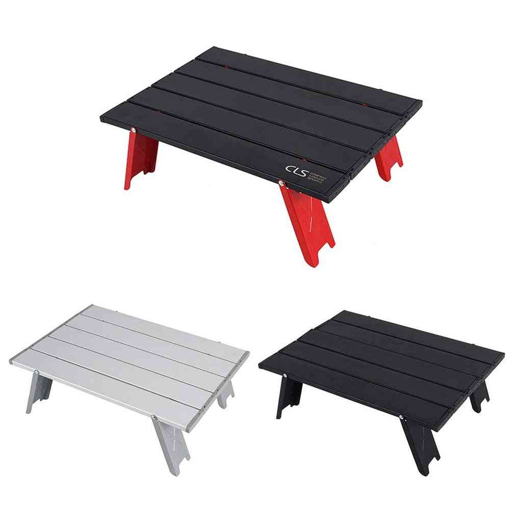 Mini Folding Table Outdoor Barbecue Camping Tent Household Bed Collapsible Computer Desk
