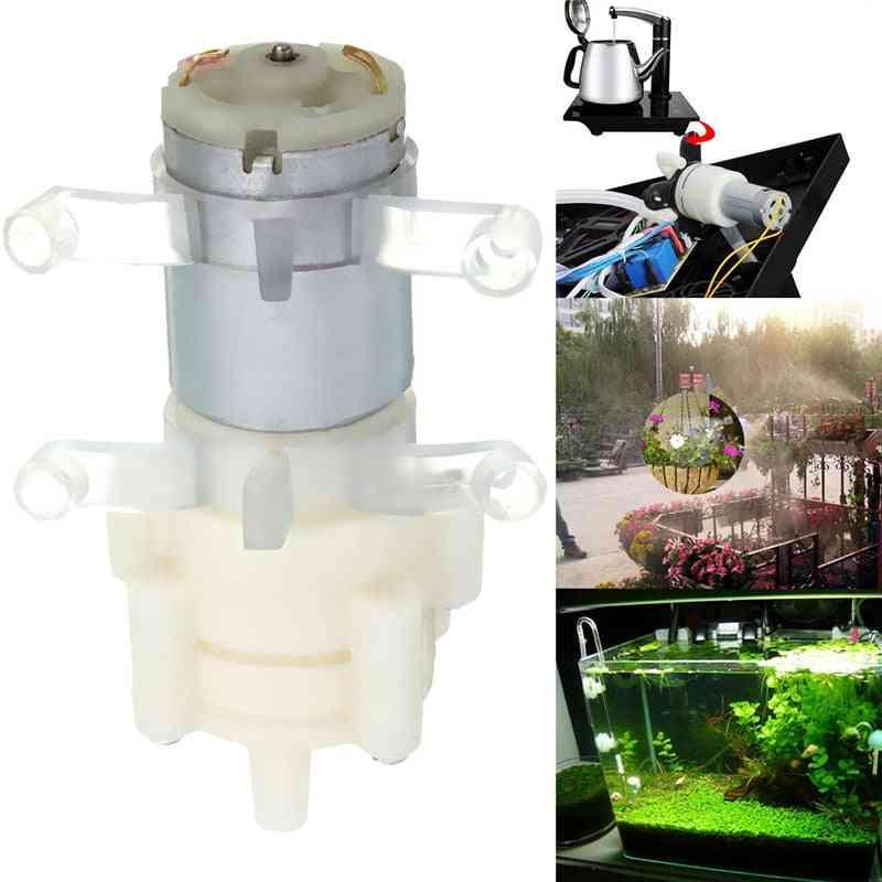 Priming Diaphragm Mini Pump Spray Motor 12v Micro Pumps For Water Dispenser 90 Mm X 40 Mm X 35 Mm Max Suction 2m