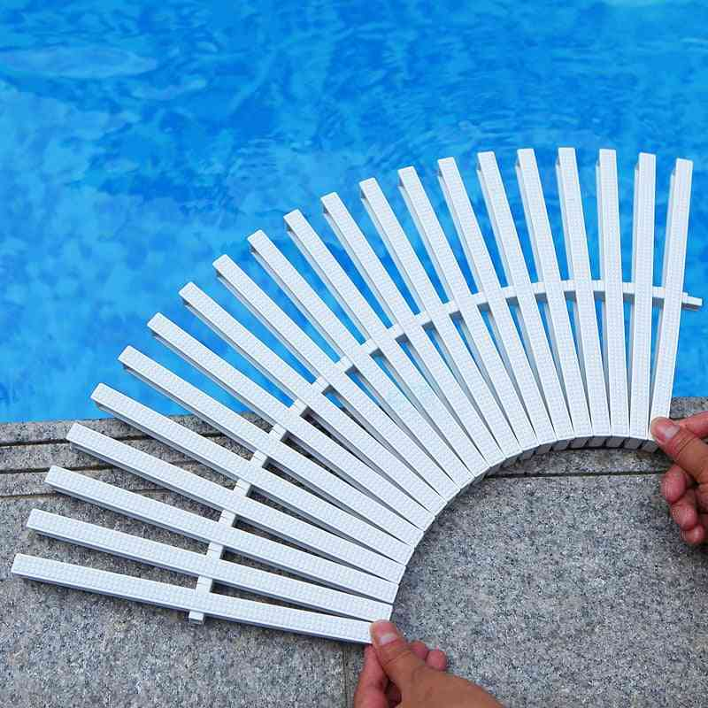 Overflow Grid Non-slip For Swim Pool Water Drain Grille Different Size For Cleaner Tools Equipment Accessories