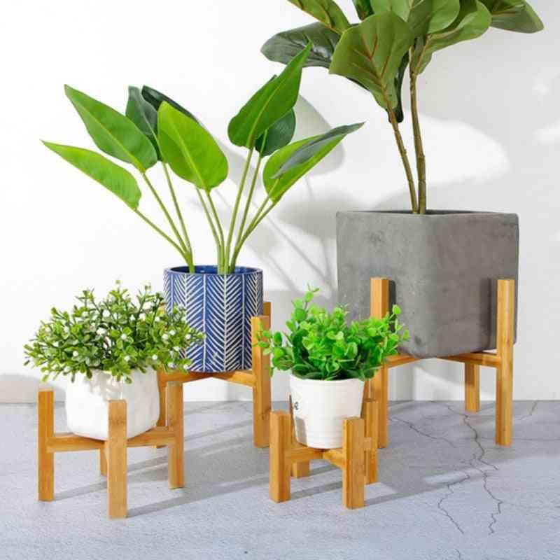 Wooden Plant Stand Flower Display Shelf Storage Rack