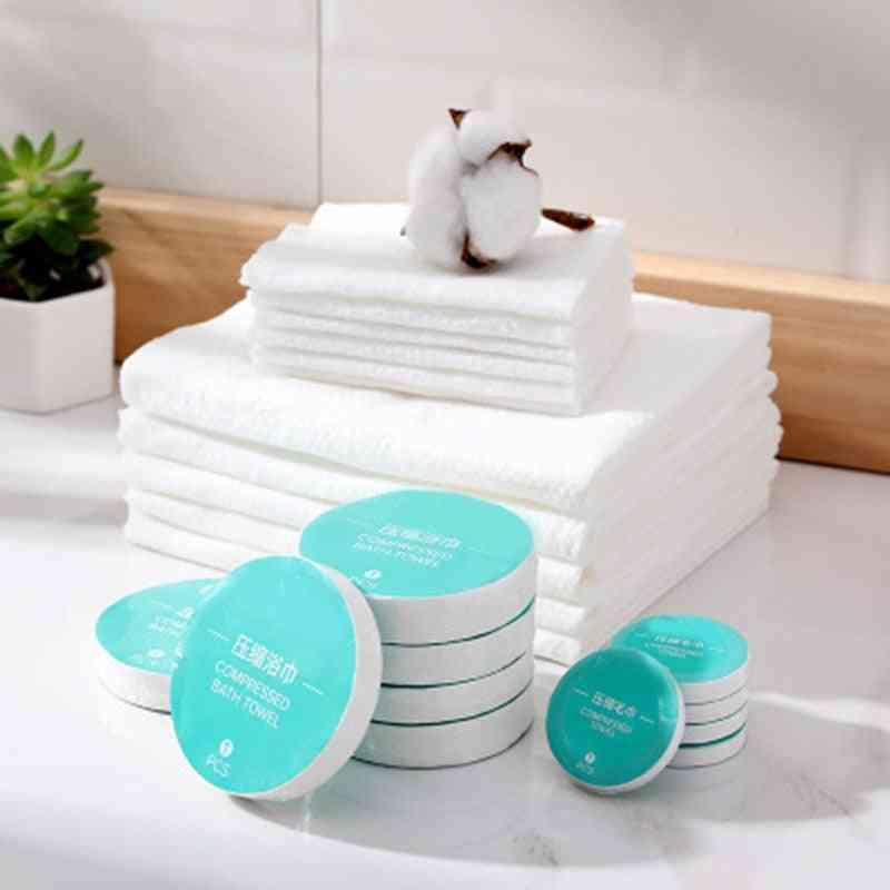 Disposable Compression Bath Towel, Portable Travel Towel.