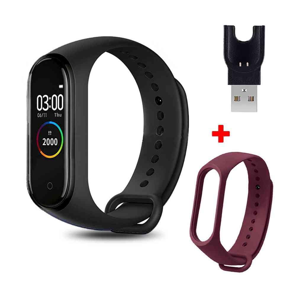 Smart Bracelet Fitness Tracker, Heart Rate, Blood Pressure Monitoring, Bluetooth Wristband, Pedometer Sport Watches