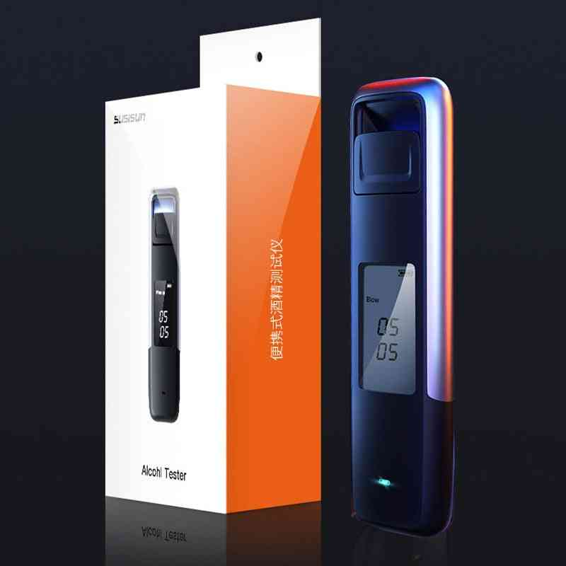 New Portable Non-contact Alcohol Breath Tester With Digital Display Screen